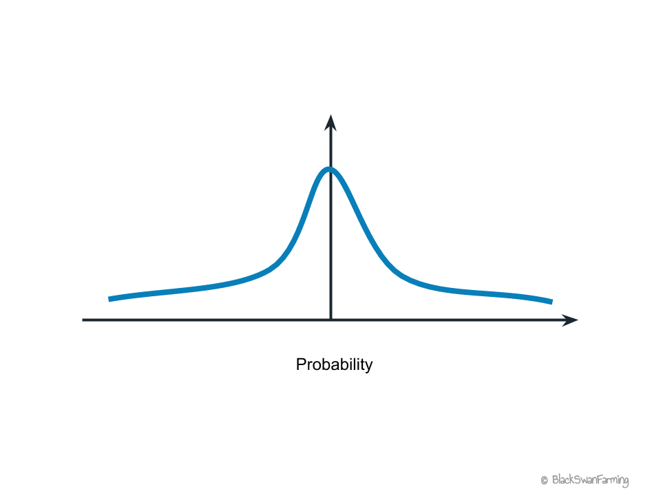 Fat-tailed Probability Distribution