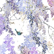 Wisteria Wallpaper Falls B