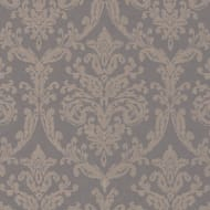 Riverside Damask Fabric Pewter