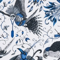 Audubon Fabric Blue
