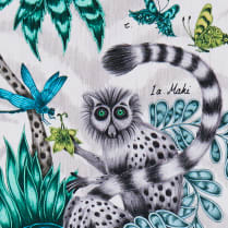 Lemur Fabric Jungle