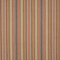 Tapton Stripe Fabric Teal Russet
