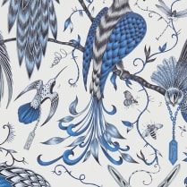 Audubon Wallpaper Blue