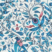 Rousseau Wallpaper Blue