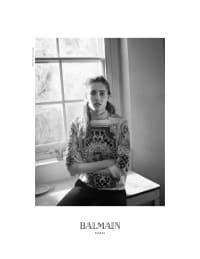 Balmain FW12 Campaign - Atelier Franck Durand © Blanc