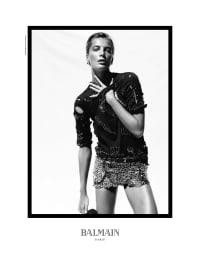 Balmain SS11 Campaign - Atelier Franck Durand © Blanc
