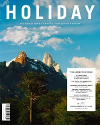 Holiday Magazine - Argentine Issue - Atelier Franck Durand © Blanc