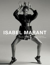 ISABEL MARANT SS15 Campaign - Atelier Franck Durand © Blanc