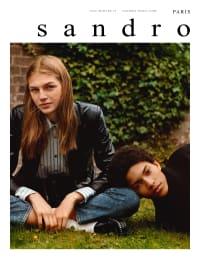 Sandro FW19 Campaign - Atelier Franck Durand © Blanc