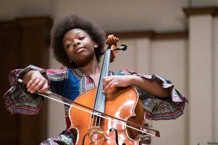 14-Year-Old Cello Prodigy Ifetayo Ali-Landing Wins Coveted National Music Competition