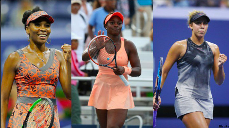 for the first time in us open history three black women