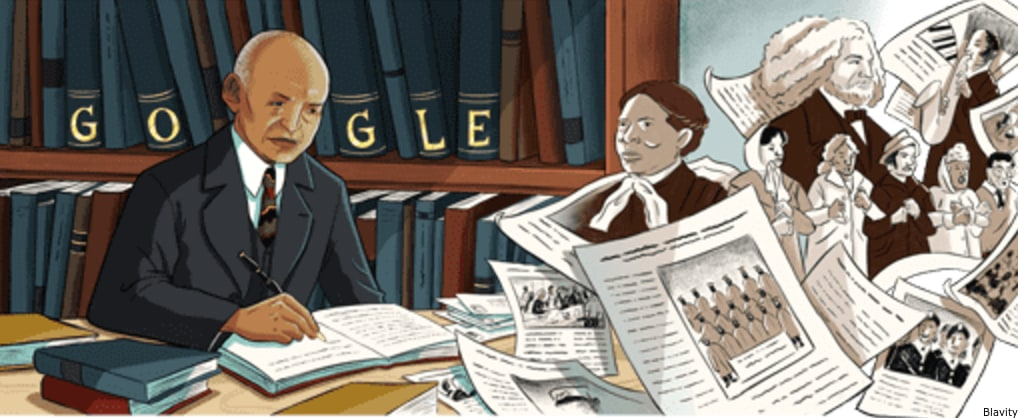 Google Honors The 'Father Of Black History' Carter G. Woodson With Doodle