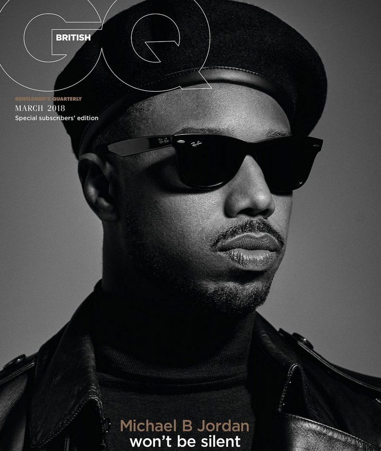 Michael B Jordan Rocks A Beret In Honor Of Black Panther Party On