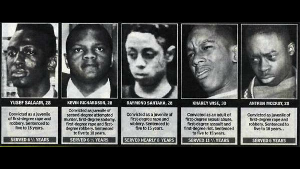 Image result for the central park five case