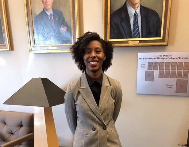 27-Year-Old Becomes The First Black Woman To Earn Ph.D. In Nuclear Engineering From University of Michigan