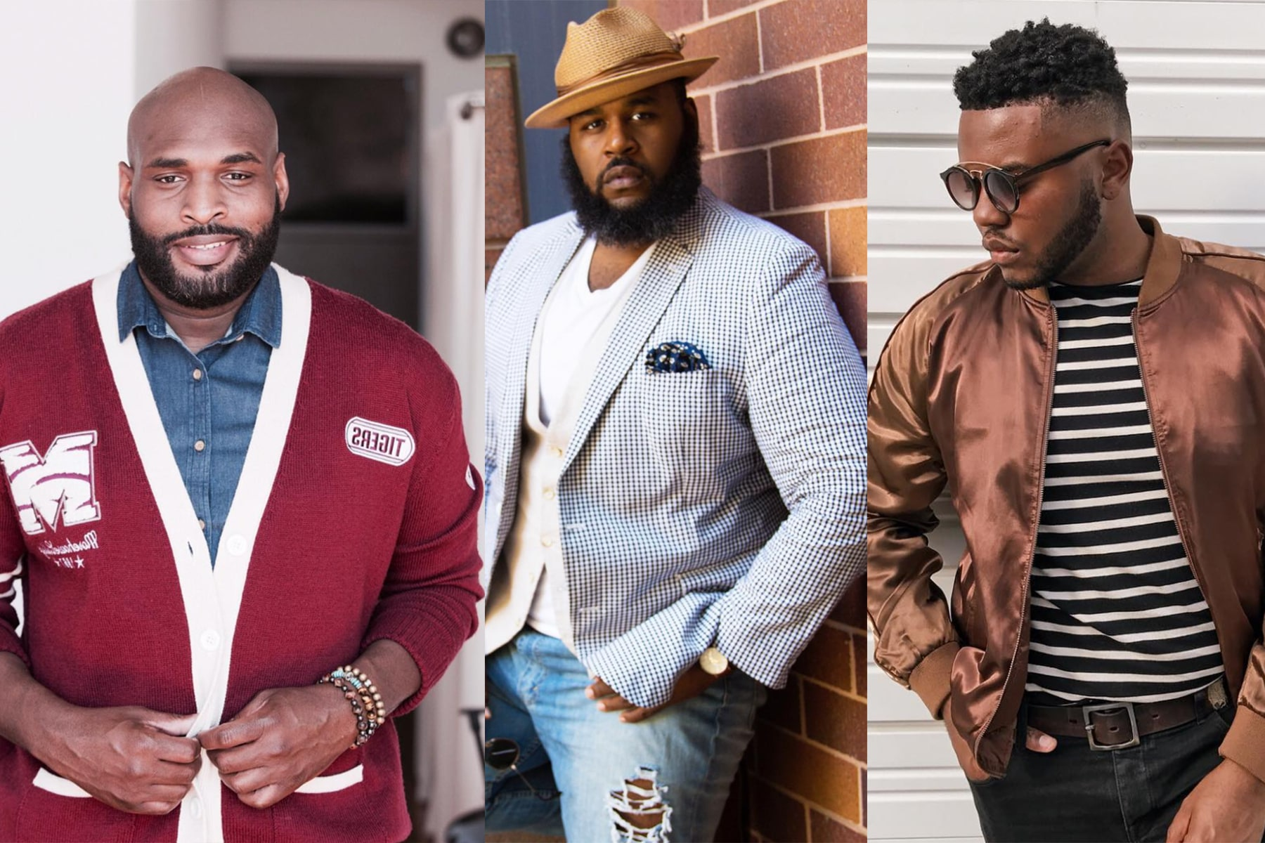 de711d9775e 10 Plus Size Male Bloggers Kicking Down The Doors Of Fashion. These guys  have serious style!
