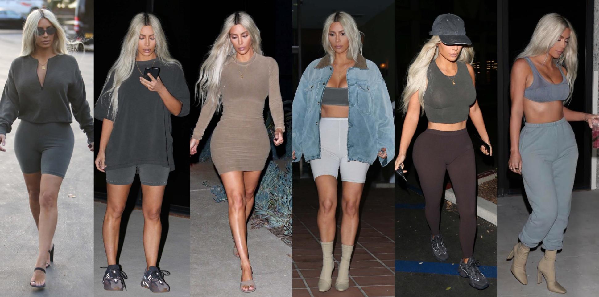 3f526069417 Yeezy Season 6 Approaching  Kim Kardashian West Reveals New Looks In ...
