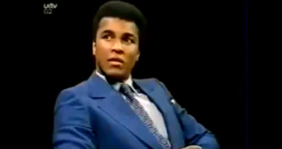 Muhammad Ali's Response To 'Not All White People Are Racists' In This 1971 Interview Is A Must-See - Blavity