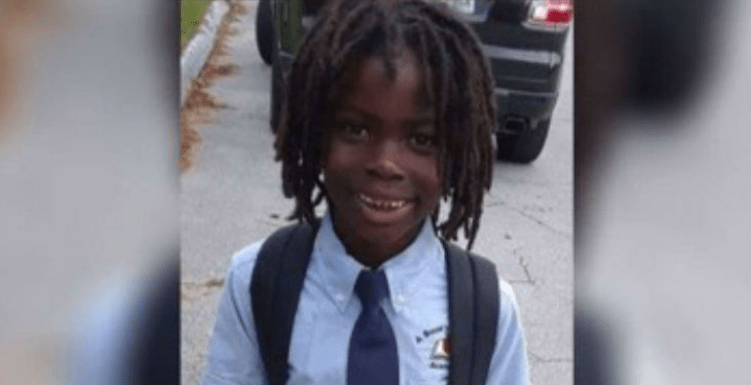 Black Child with Dreadlocs