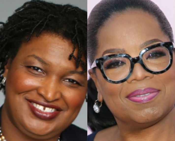 Oprah Winfrey Joins Stacey Abrams On Campaign Trail