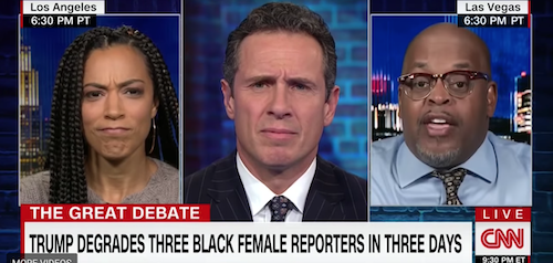 'That's Not It:' Angela Rye Checks Black Trump Supporter Who Called April Ryan 'Spicy'