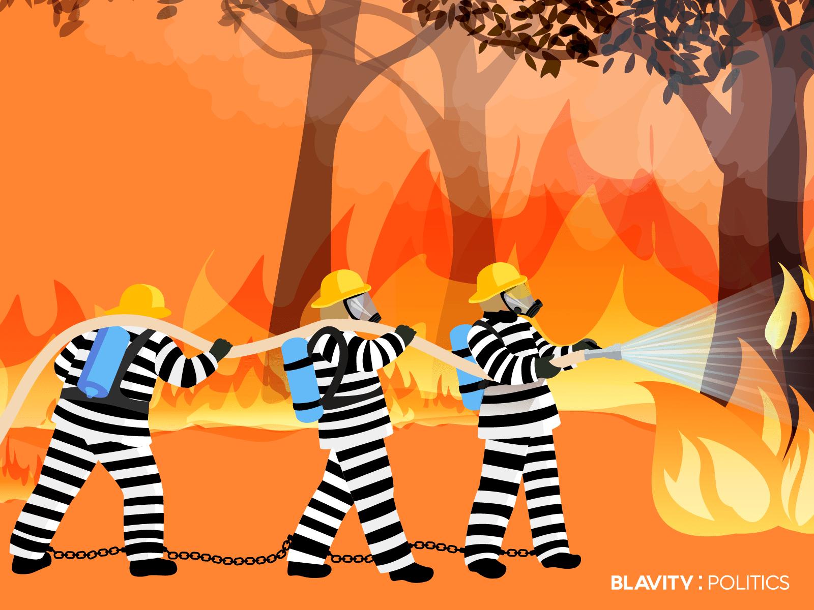 How California's Prison Firefighting Program Is Like Modern