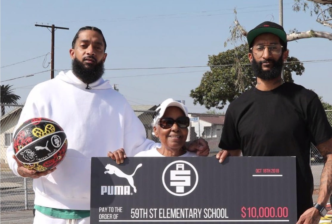 Image result for nipsey and blacc sam
