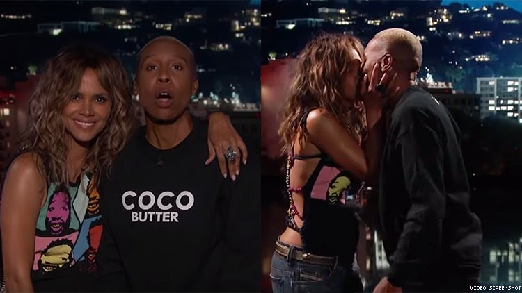 Halle Berry And Lena Waithe Gave Black America Its Madonna-Britney Moment On 'Jimmy Kimmel Live'