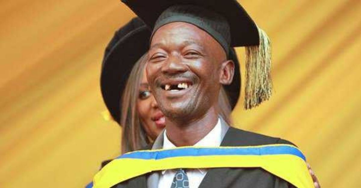 From Gardner To Graduate: South African Man Overcomes The Odds To Receive His College Diploma