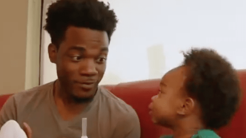 Father And Son Who Went Viral After In-Depth Conversation About 'Empire' Star In New Denny's Commercial