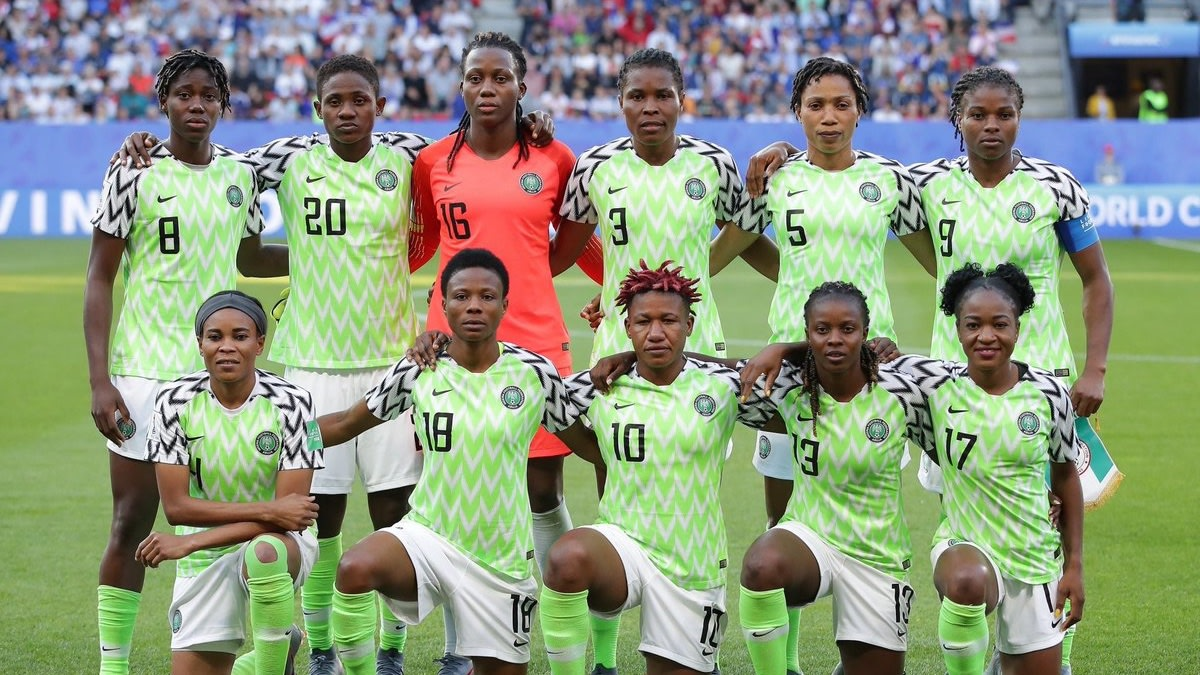 Nigeria's Women's Soccer Team Stages Sit-In Protest To Demand Overdue Money From The Nigeria Football Federation