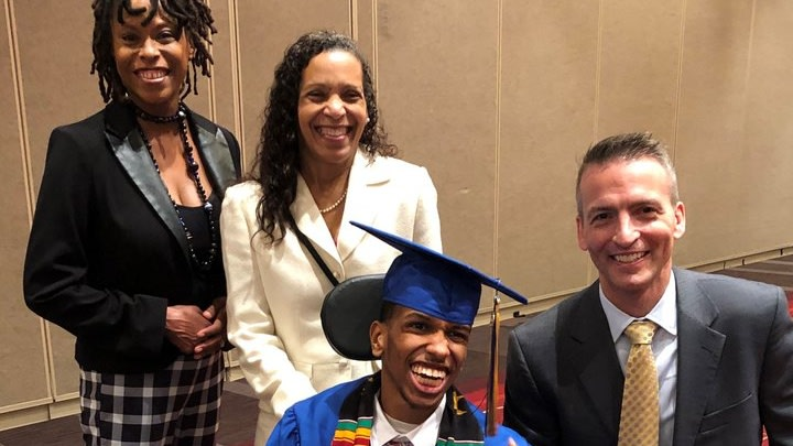 Nonverbal Student Nicknamed 'Baby Obama' Drops The Mic After Delivering Resilient Graduation Speech