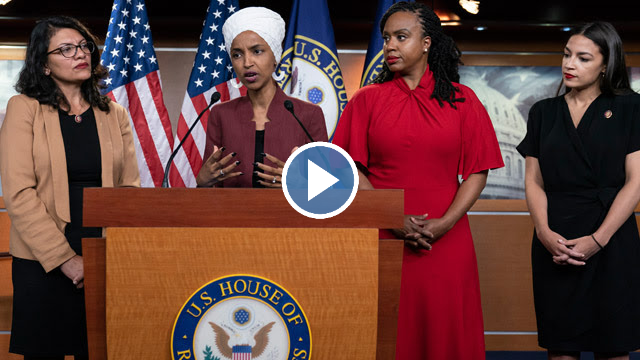 Freshmen Congresswoman Show Trump They Will Not Back Away From His Racism: 'Our Squad Is Big'