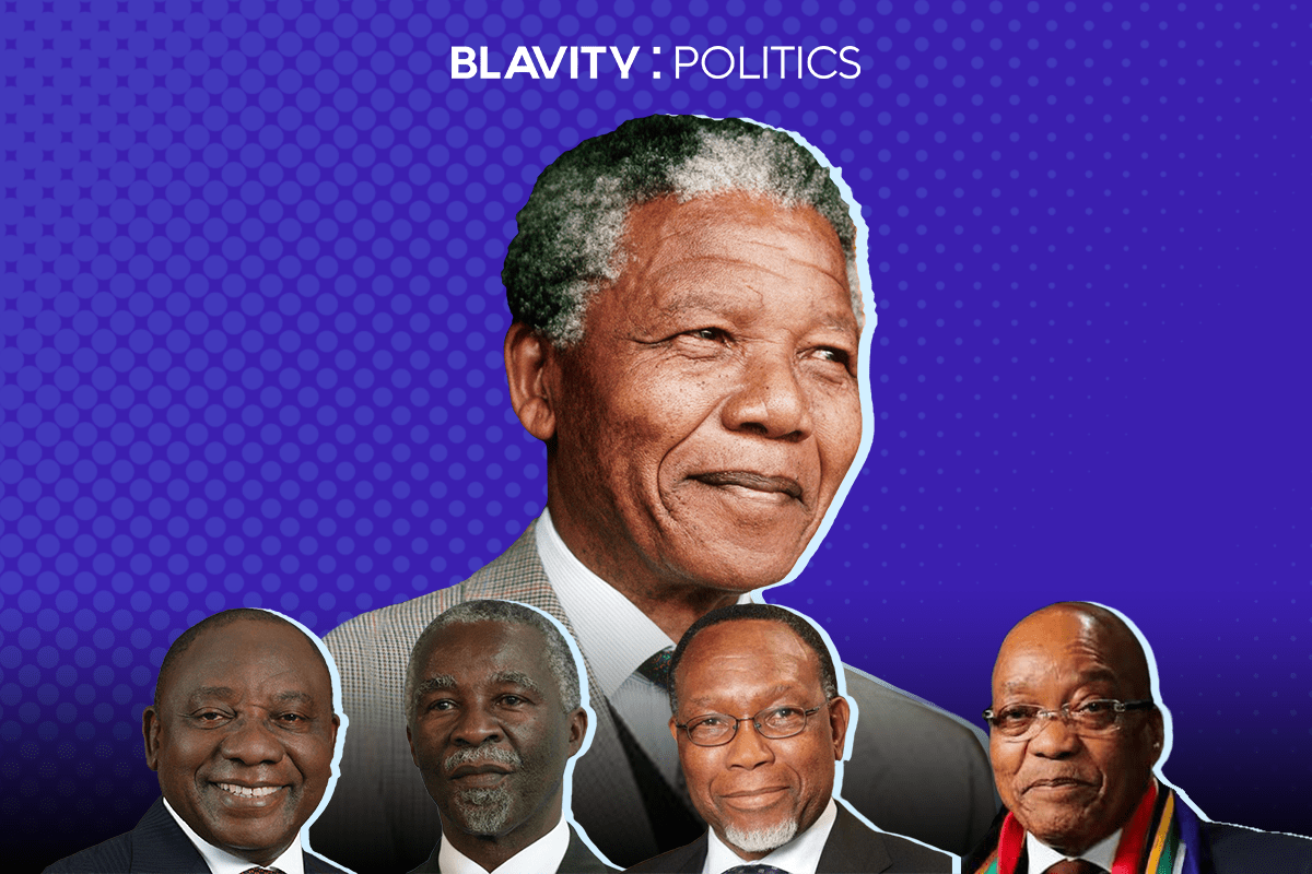 25 Years After Apartheid, South Africa's Black Presidents Struggle To Reach The Bar Nelson Mandela Set