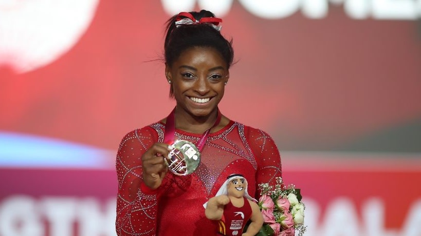 Simone Biles Is The Most Decorated Female Gymnast In History After Securing 21 World Championship Medals - Blavity