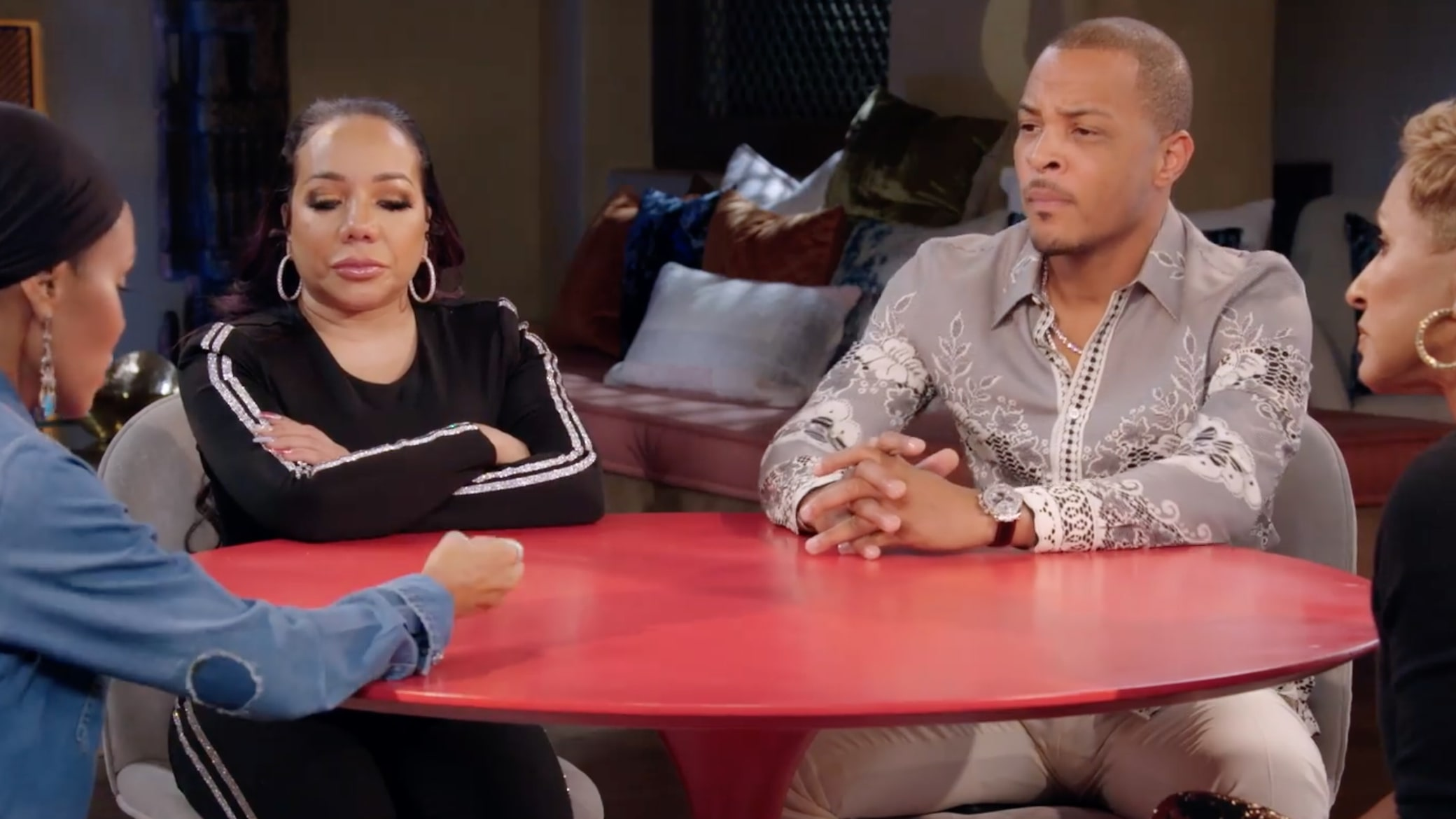 red table talk ti and tiny