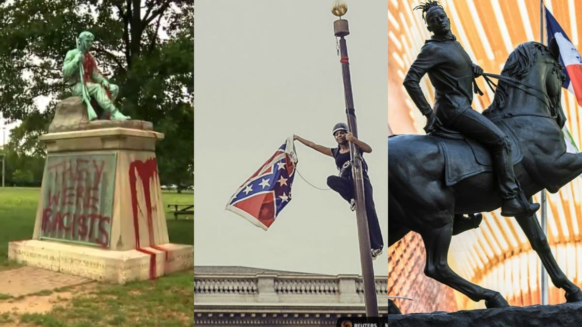 9 Of The Best FUs To Confederate Monuments - Blavity