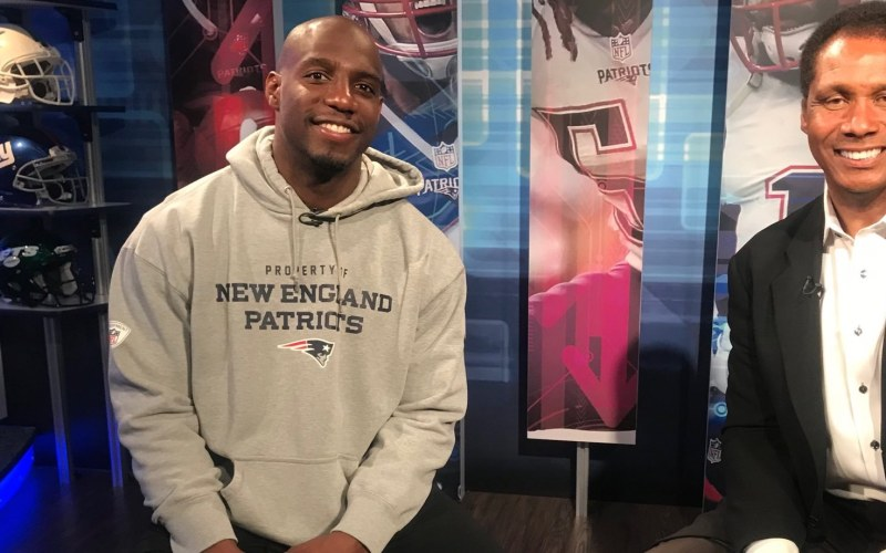 New England Patriots safety Duron Harmon.