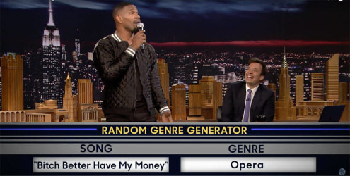 Jamie Foxx Reminds Us Why He's One Of The Best On Fallon's