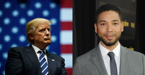 Trump Conjured Up The Nerve To Decry Attack On Jussie Smollett Reportedly Carried Out By MAGA Supporters