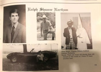 Eastern Virginia Medical School Yearbook / Ralph Northam's page