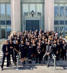 Black Harvard Law School students, class of 2021