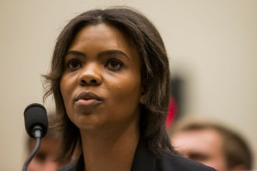 Candace Owens of Turning Point USA testifies during a House Judiciary Committee hearing discussing hate crimes and the rise of white nationalism.