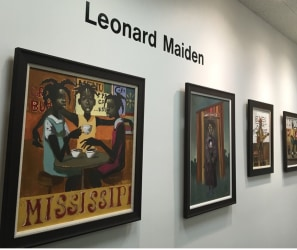 Leonard Maiden Exhibition