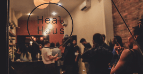 HealHaus is a wellness-based café located in Brooklyn's Bedford-Stuyvesant area.