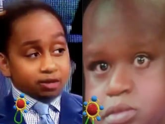 Baby filters on Stephen Smith and Shaquille O' Neal