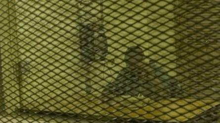 Inmate making a call.
