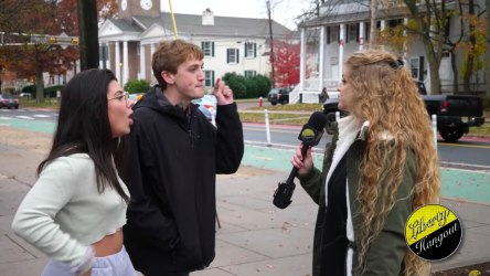 Kaitlin Bennet and two interviewees