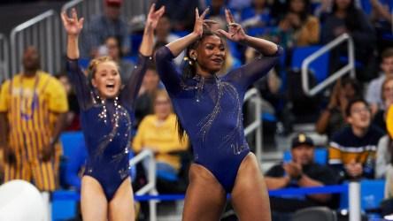 UCLA Gymnast Performs Nearly 'Flawless
