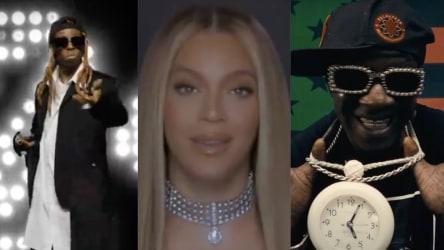 Lil Wayne,  Beyoncé and Public Enemy